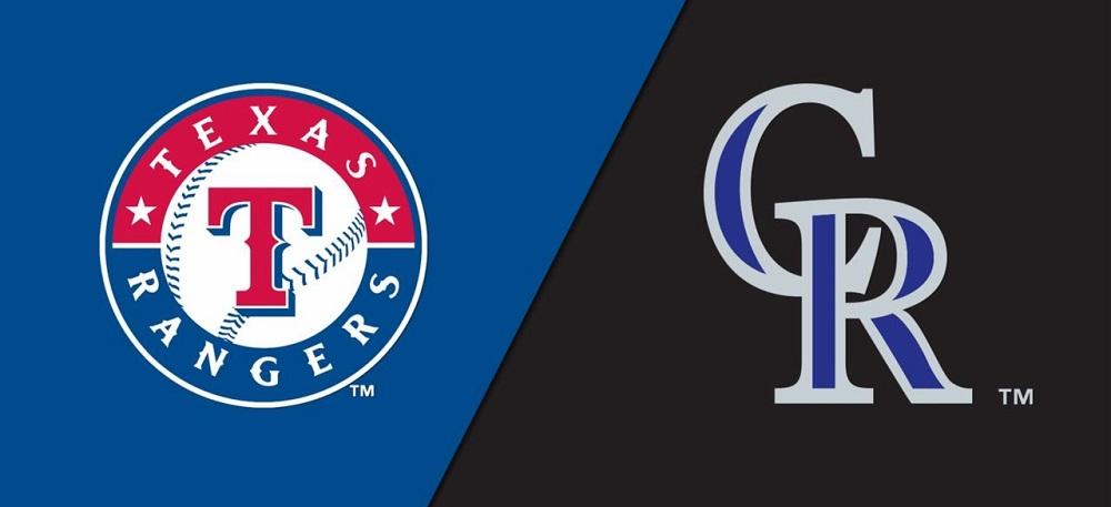 Texas Rangers vs. Colorado Rockies