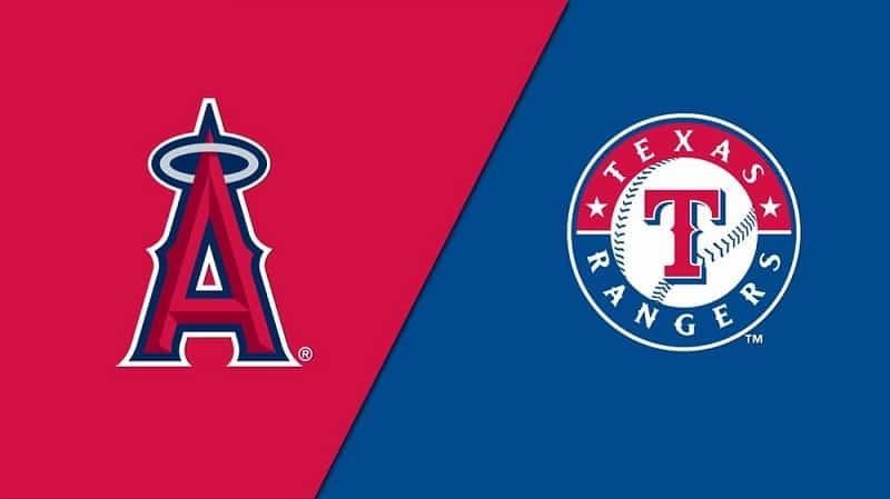 Los Angeles Angels vs Texas Rangers